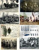 MilitärMilitär Partie mit circa 430 Ansichtskarten meist WK I Westfront dabei etlichge Foto-Karten