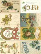Ansichtskarten,Glueckwunsch,sonstigeGlückwunsch Lot mit circa 30 Ansichtskarten dabei viele