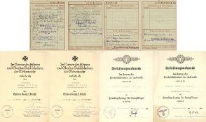 III. Reich Propaganda,Orden,WK II Kompletter Fliegernachlass des Leutnant Hermann Fiebig 9.