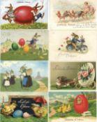 Ansichtskarten,Glueckwunsch,OsternOstern Partie mit über 12 Ansichtskarten vor 1945 dabei viele