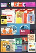 Reklame/Werbung,Marken,sonstigeVignetten Album mit circa 2000 St. (nach 1945) I-II- - -23.80 %