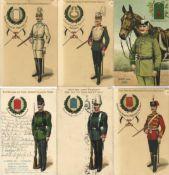 Militär, WK I, RegimenterRegiment Partie von circa 25 Ansichtskarten unterschiedliche Erhaltungen- -