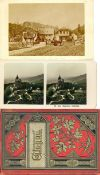 Industrie und Wirtschaft, Fotographie, KamerasKabinettfotos CDVs Stereokarten Leporellos Partie