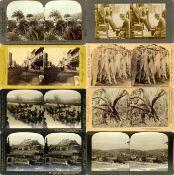 Ansichtskarten,Sonderkarten,sonstigeStereo-Fotos Partie mit über 140 Stückonderkarten I-II- - -23.80