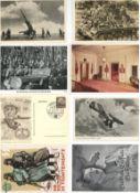Militaer,WK II,sonstigeWK II Partie mit über 130 Ansichtskarten interessante Fundgrube mit einigen