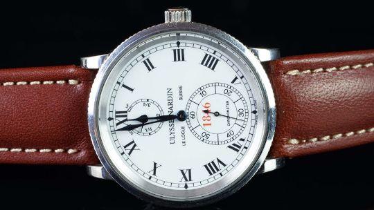 Gentlemen S Ulysse Nardin Marine 1846 Chronometer Ref 260 22 150th Anniversary Automatic