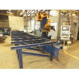 "Lot 258 - Peddinghaus Ocean Avenger CNC Beam/Drill Line, Mdl 1000B, 40"" x 60', Max X & Y Axis Speed 118, 13."
