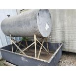 Lot 247B - Bulk Storage Tank w/ Containment Pan
