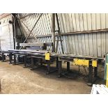 """Lot 239 - 25'6"""" In/ 26' Out Powered Conveyor"""