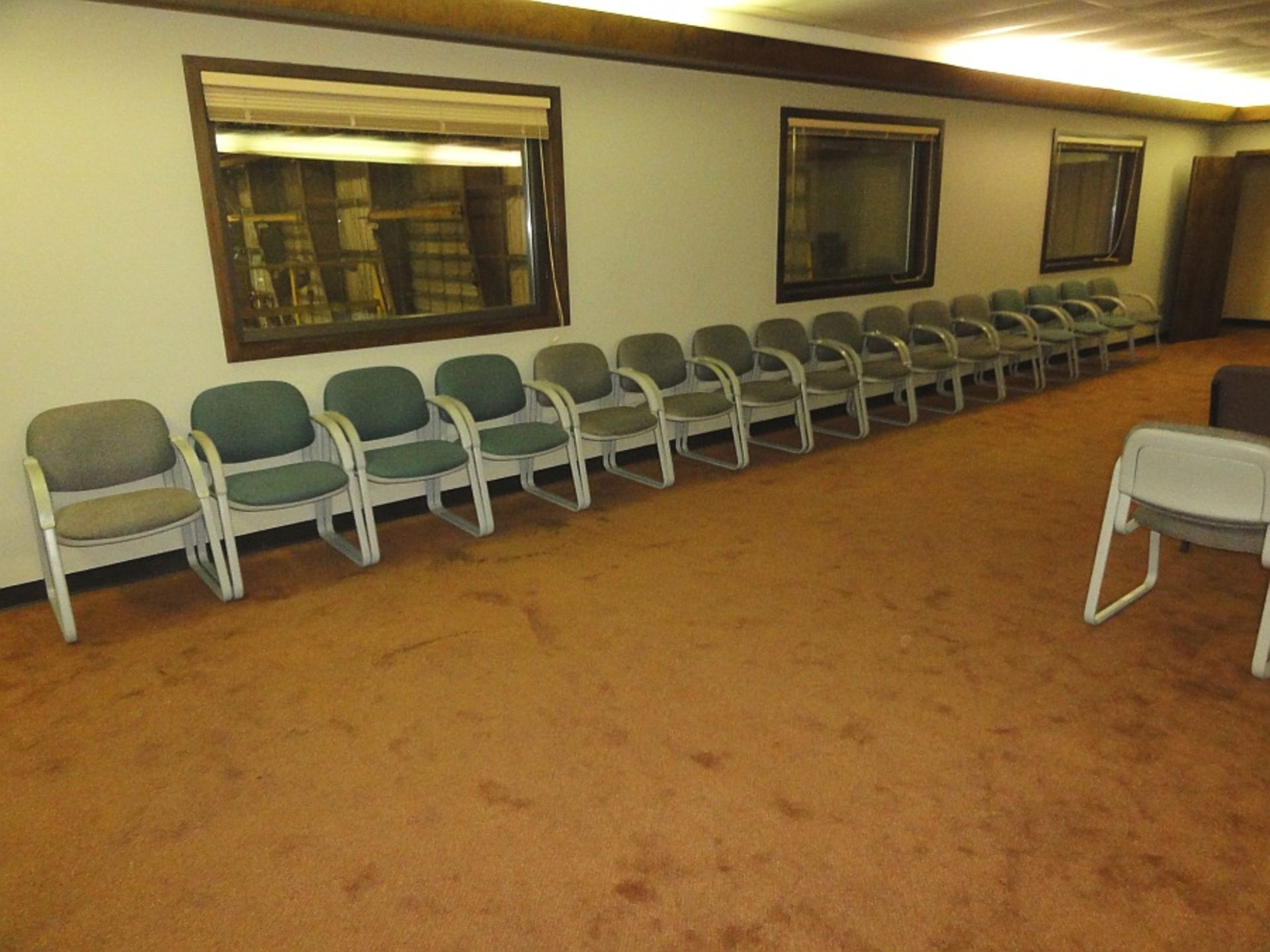 Lot 640 - Upholstered Chairs