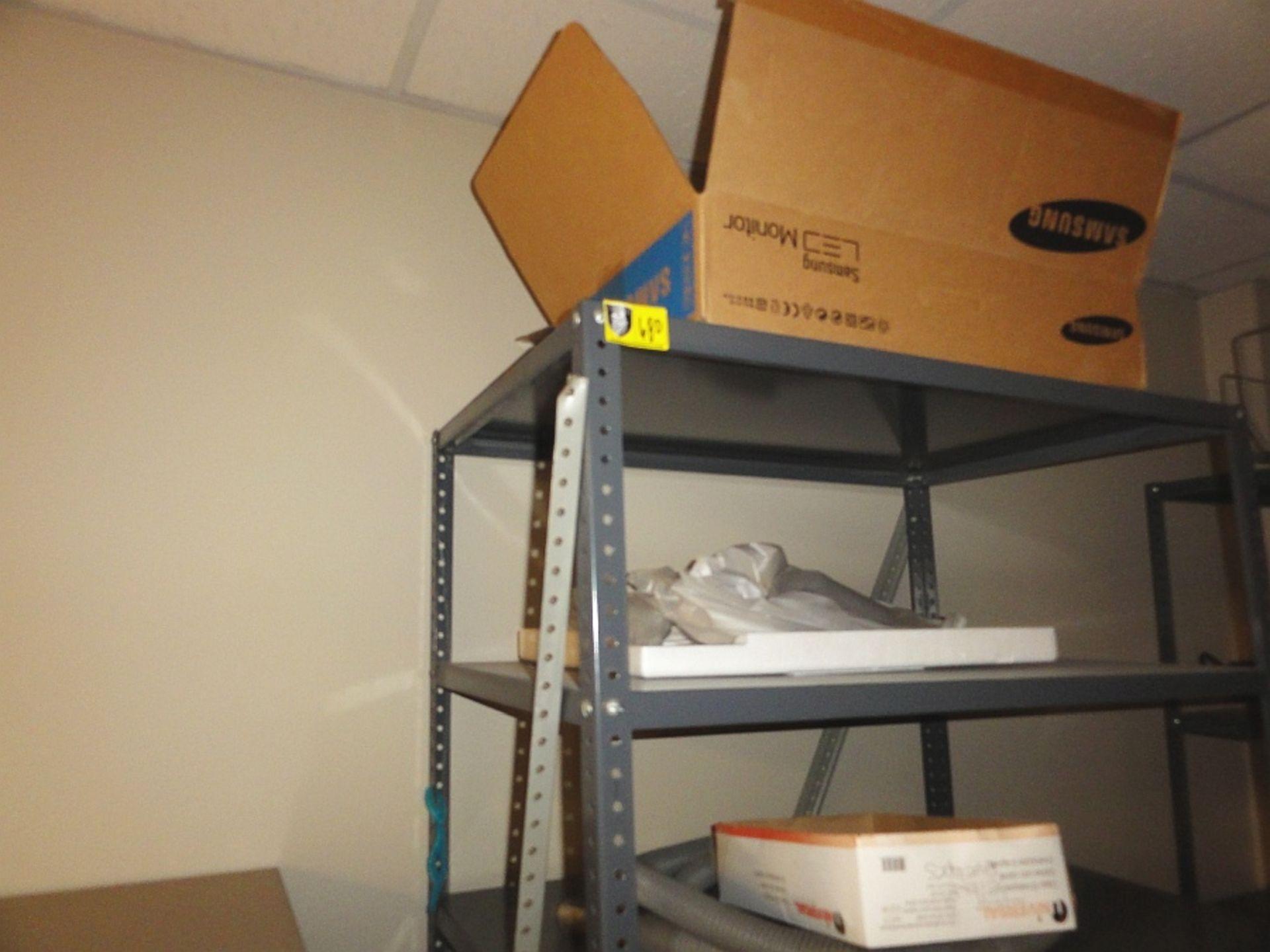Metal Shelves - Image 2 of 2