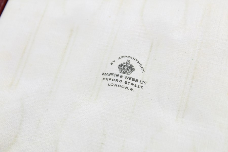 Lot 50 - 6 x Antique 1915 Sheffield Sterling Silver teaspoons Mappin & Webb cased