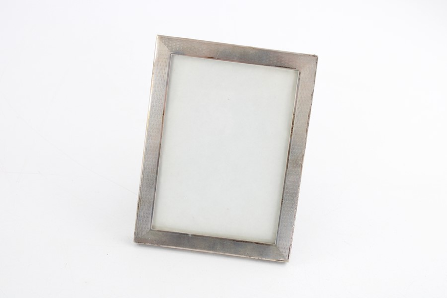 Lot 48 - Vintage hallmarked silver photograph frames Inc miniature items are in vintage condition signs of