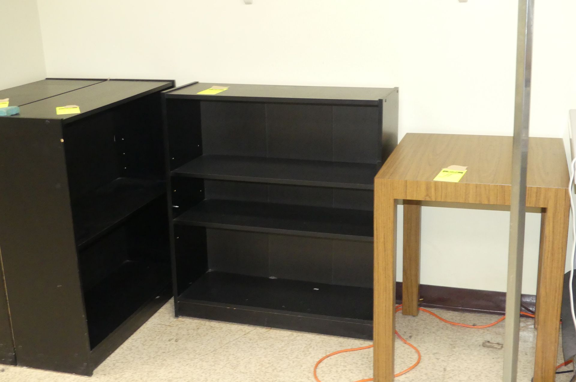 9-TABLES, 5-CHAIRS, 3-BOOK SHELVES - Image 2 of 9