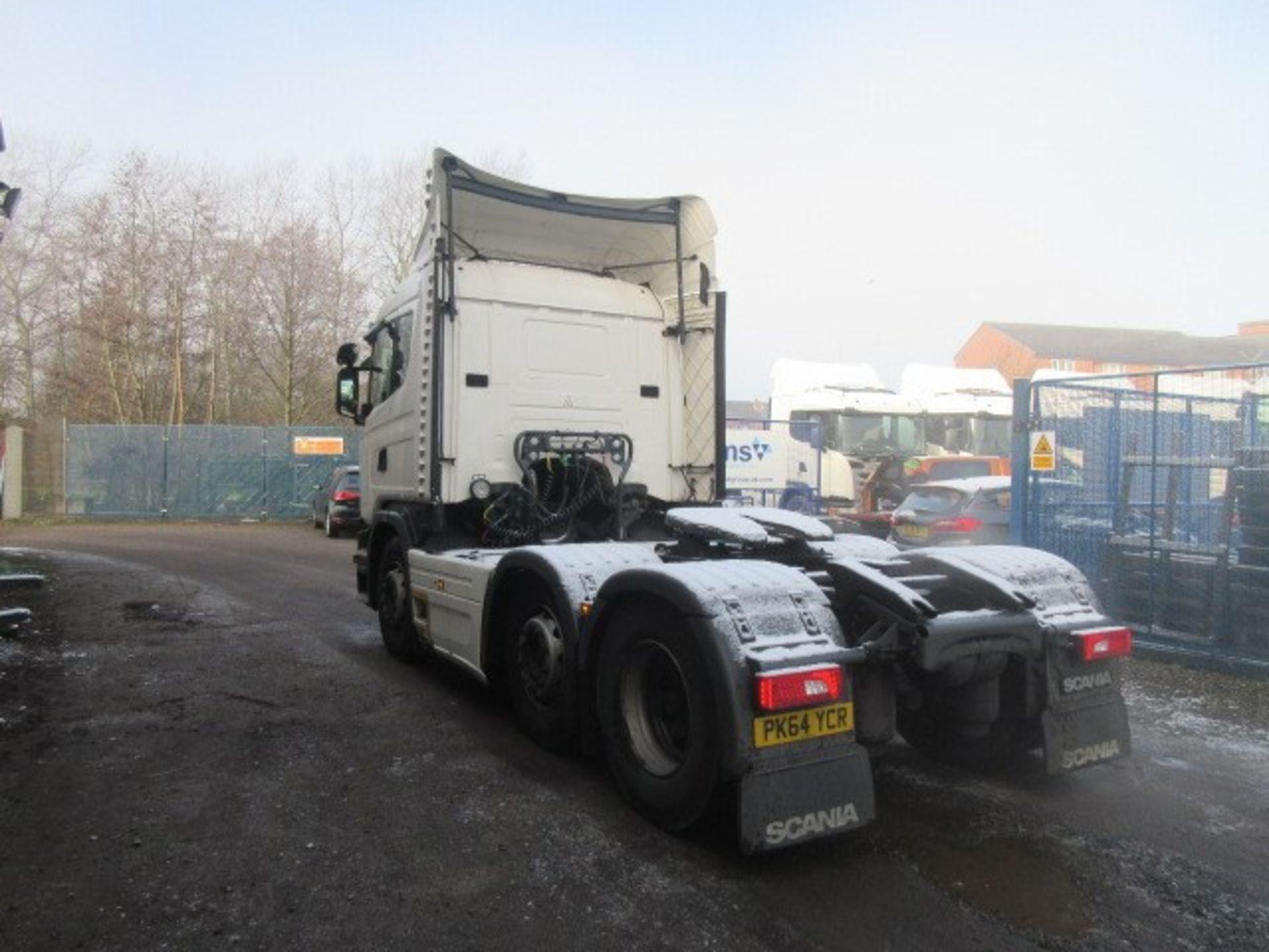 Lot 1 - Scania G410 LA6X2/2MNA Tractor unit (2014, '64') - PK64 YCR