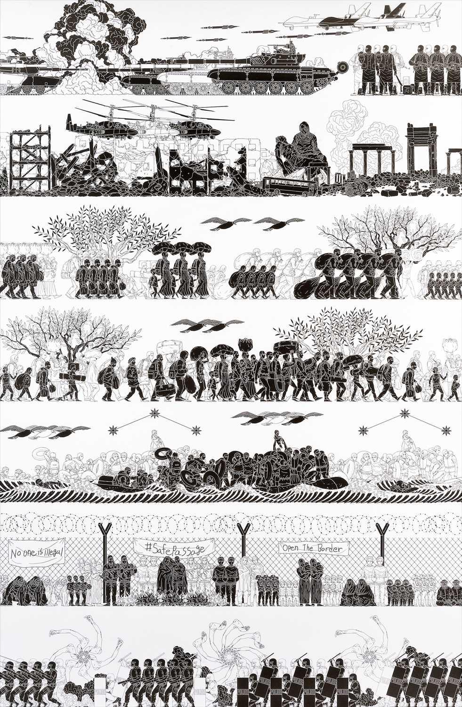 Lot 1 - Ai Weiwei (Chinese b.1957), 'The Odyssey', 2017