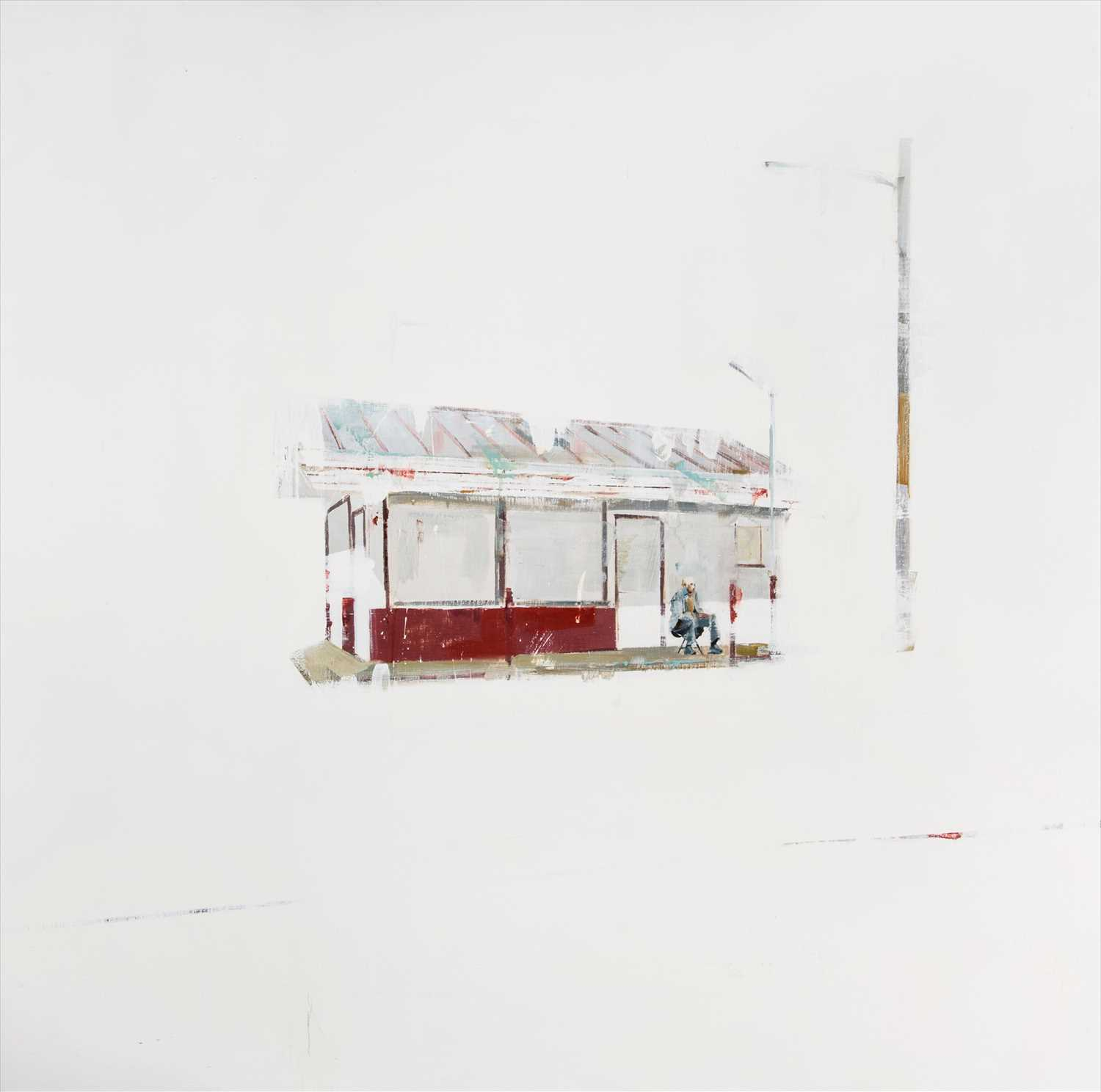 Lot 10 - Brett Amory (American b.1975), 'Waiting #71', 2010