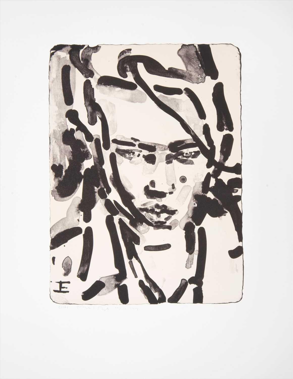 Lot 57 - Elizabeth Peyton (American b.1965), 'Elias', 2014