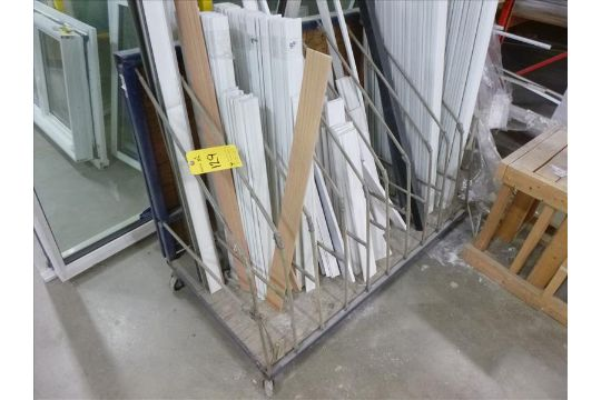2) half extrusion cut-off carts (excluding contents)
