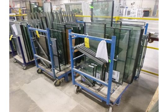 2) sealed unit/stick carts, 33""