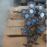 """Lot of Unused Powell 3/4"""" globe valves"""