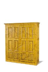 Lot 30 - A large two door cupboard, circa 1900
