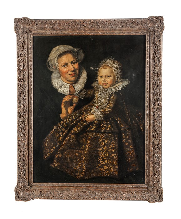 Lot 27 - After Frans Hals Portrait of Catharina Hooft with her nurse