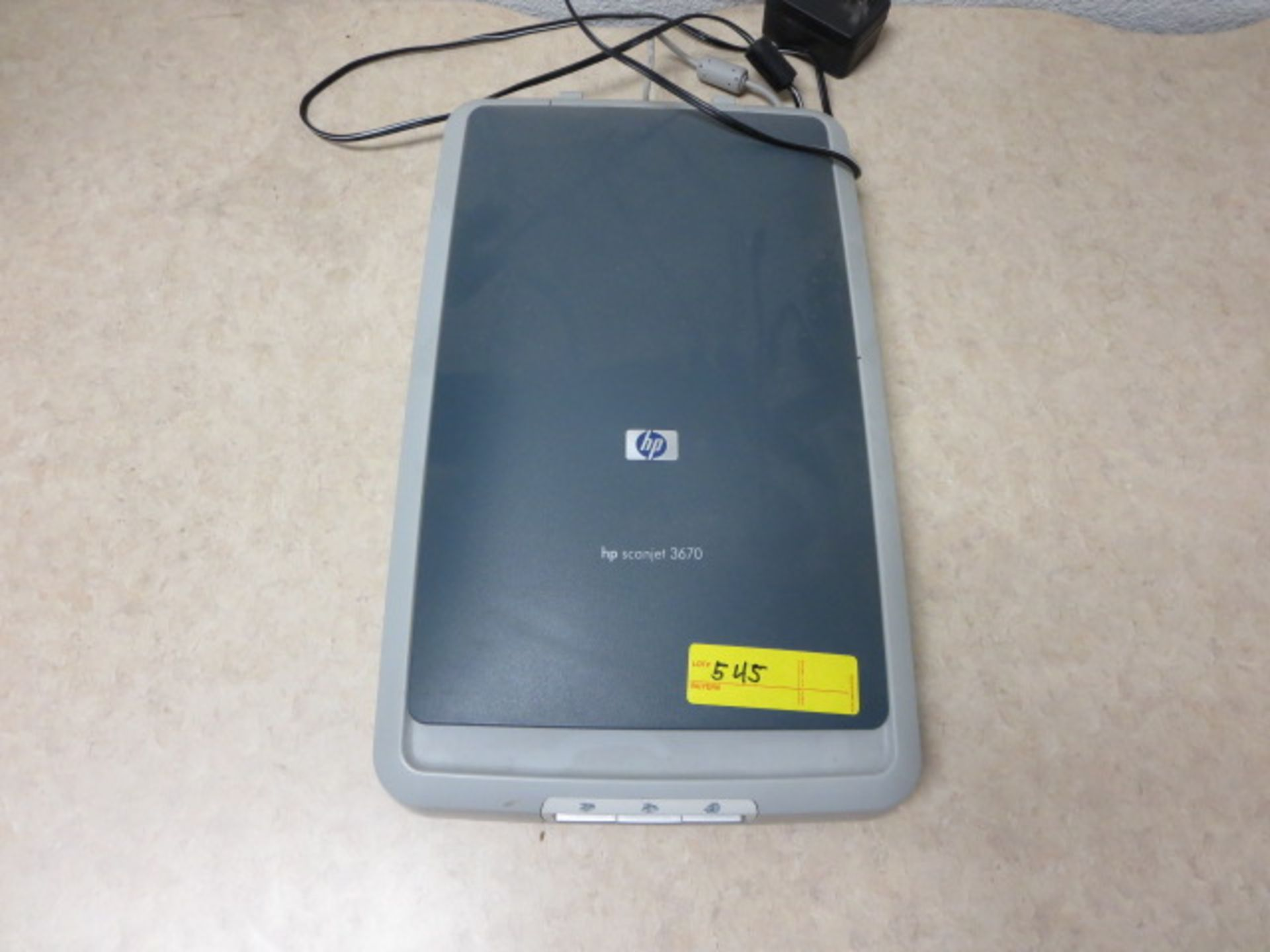 Lot 545 - HP ScanJet Scanner, model 3670