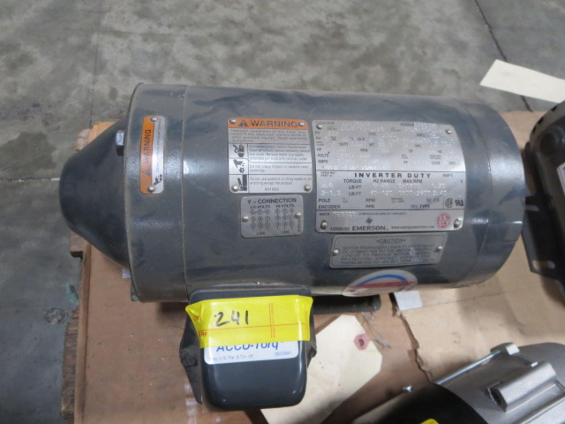 Lot 241 - US Motors Inverter Duty Motor, 3 Phase, 60Hz