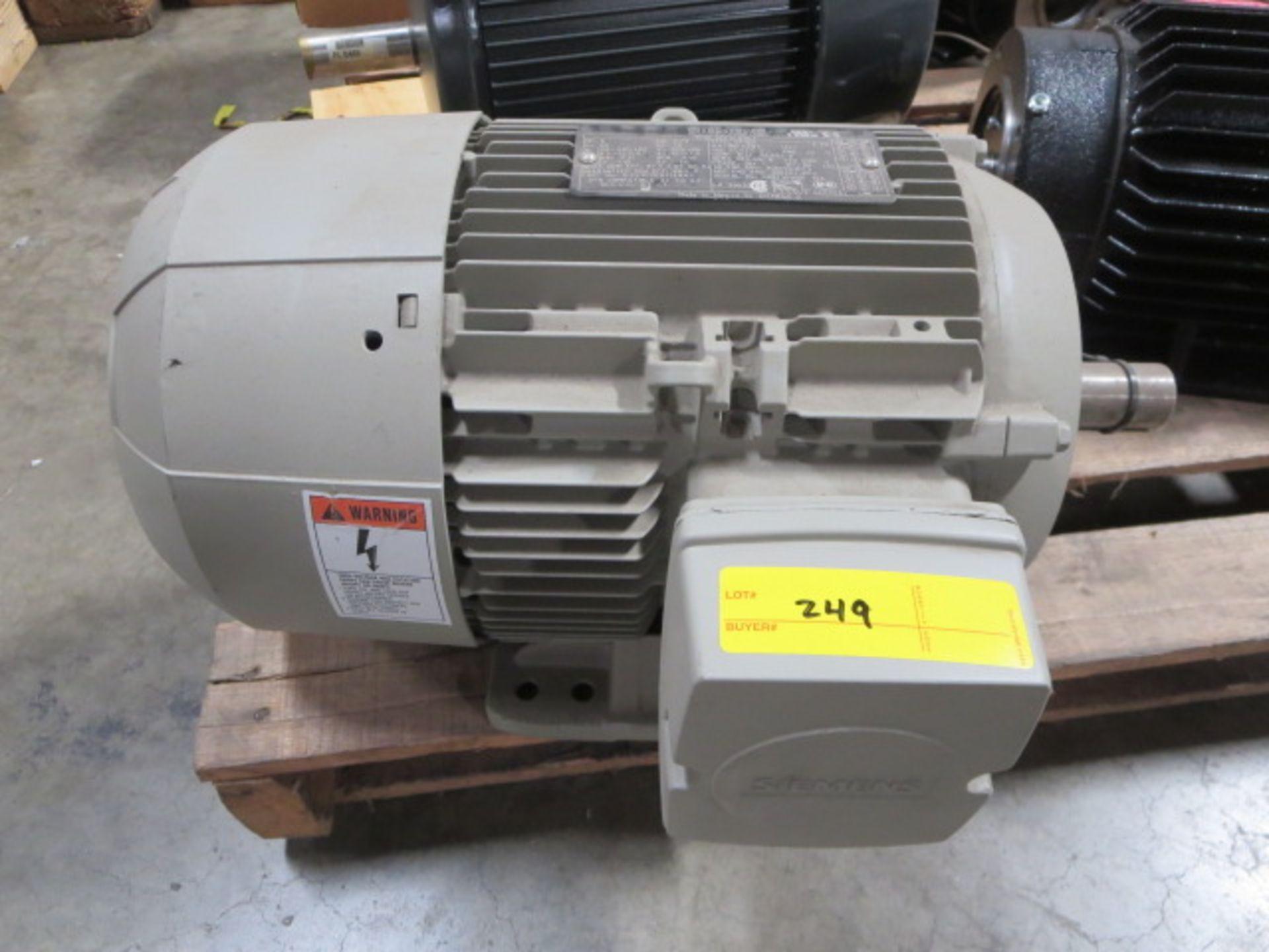 Lot 249 - Siemens High Efficiency Motor, 3 Phase, 60Hz