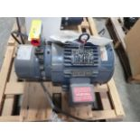 Lot 219 - Marathon Blue Max Inverter Duty Motor, 3 Phase, 120Hz, model BVB 182THTS8048AP