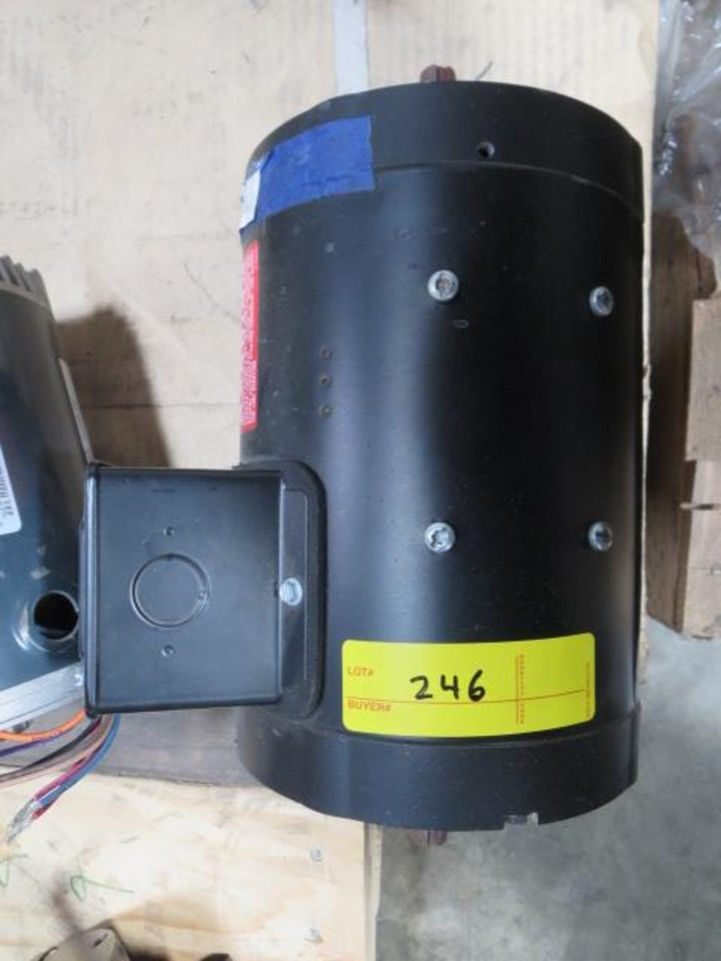 Lot 246 - Marathon Black Max Inverter Duty Motor, 3 Phase, 120Hz