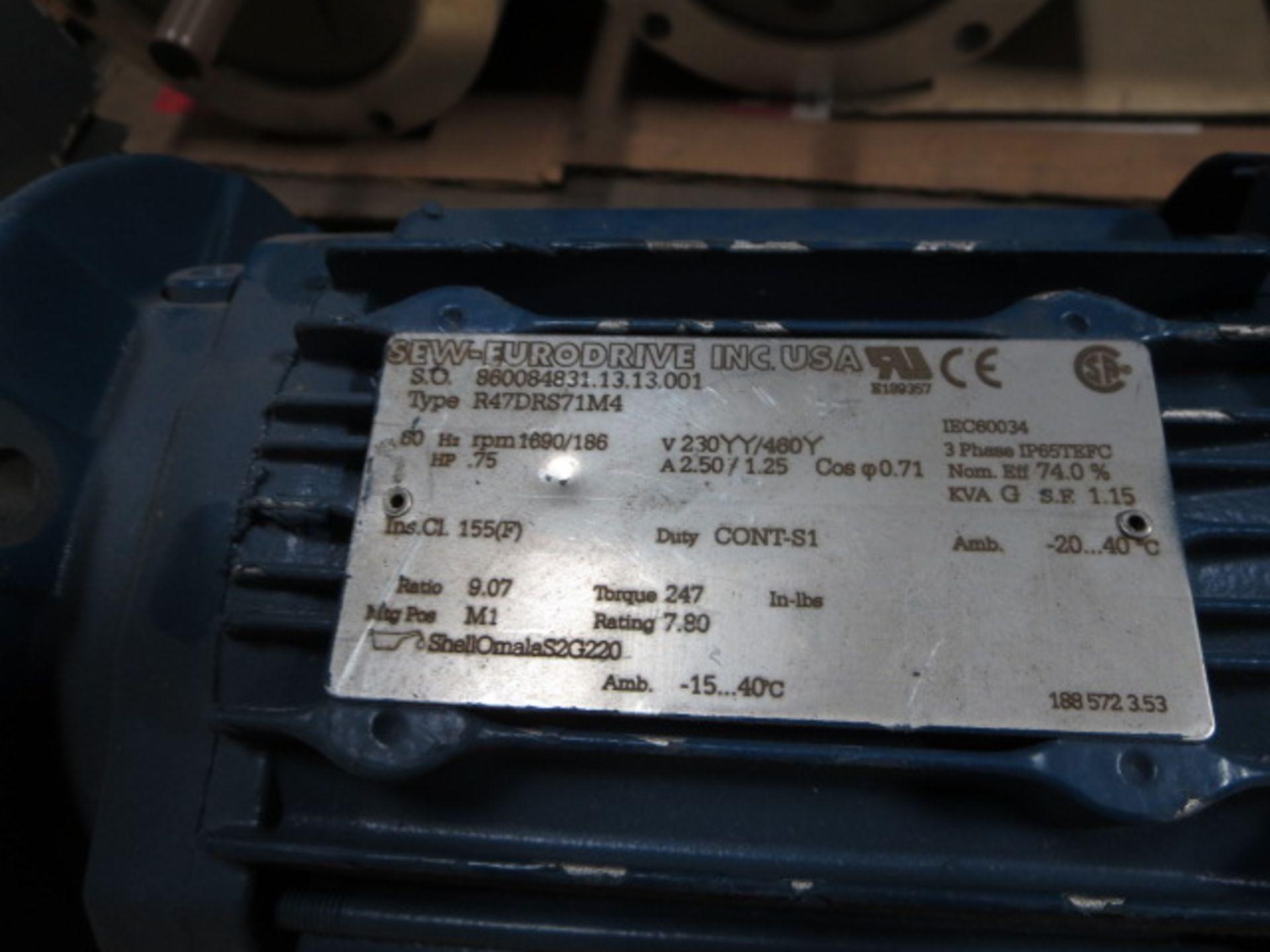 Lot 236 - Sew Eurodrive Motor, 3 Phase, 60Hz