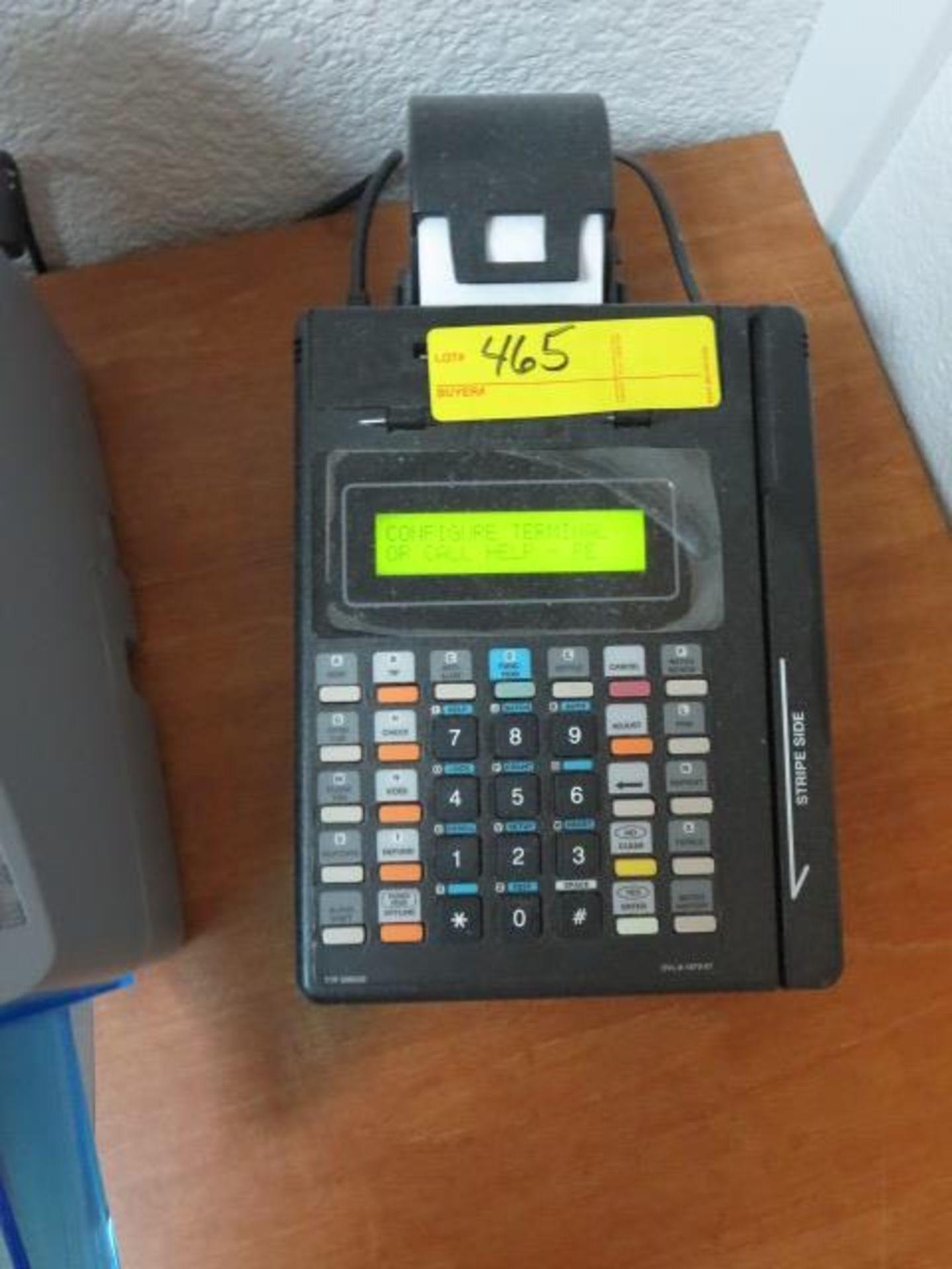 Lot 465 - Credit Card Scanner, model T7P 500032