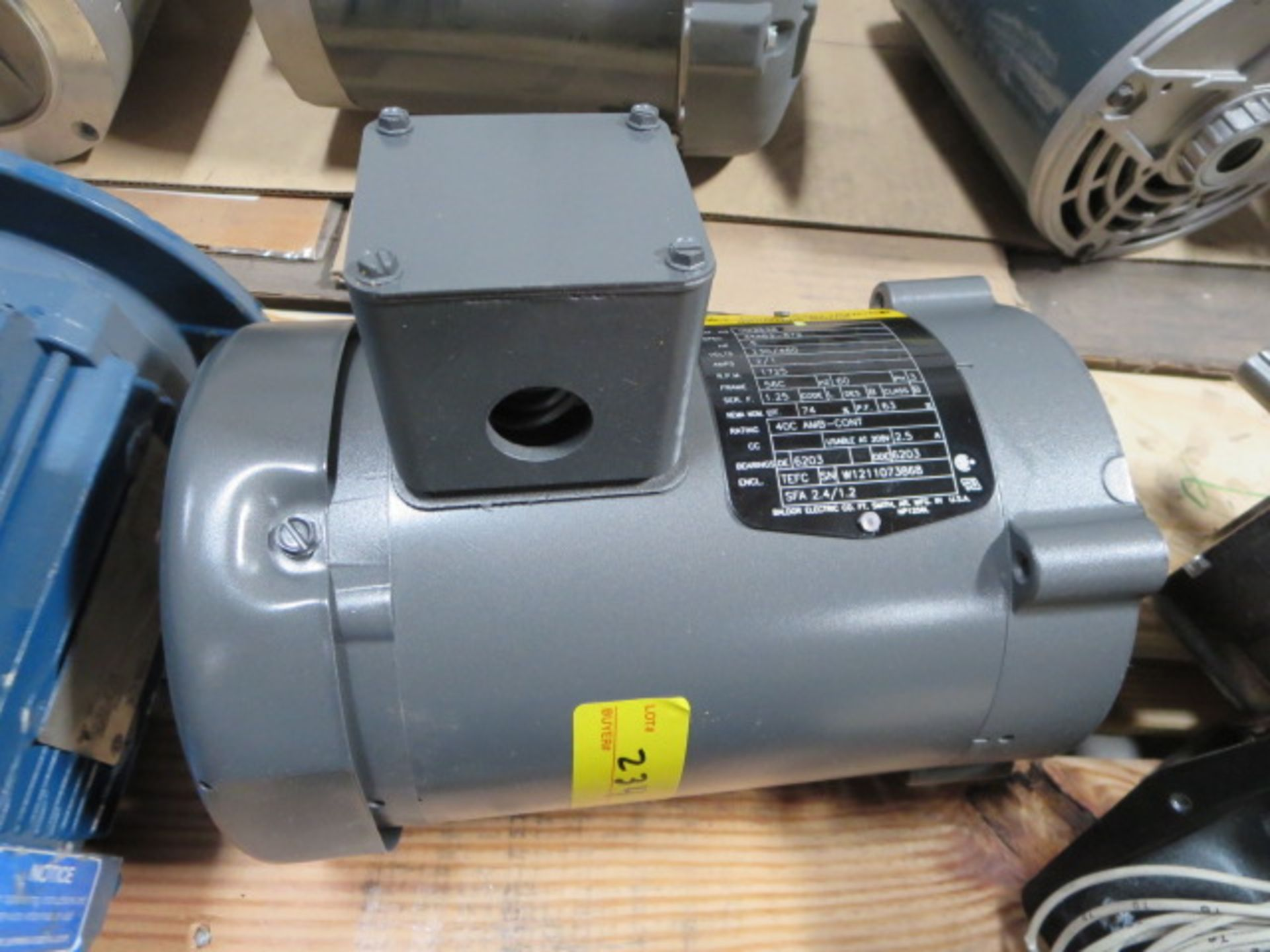 Lot 234 - Baldor Reliancer Industrial Motor, 3 Phase, 60Hz