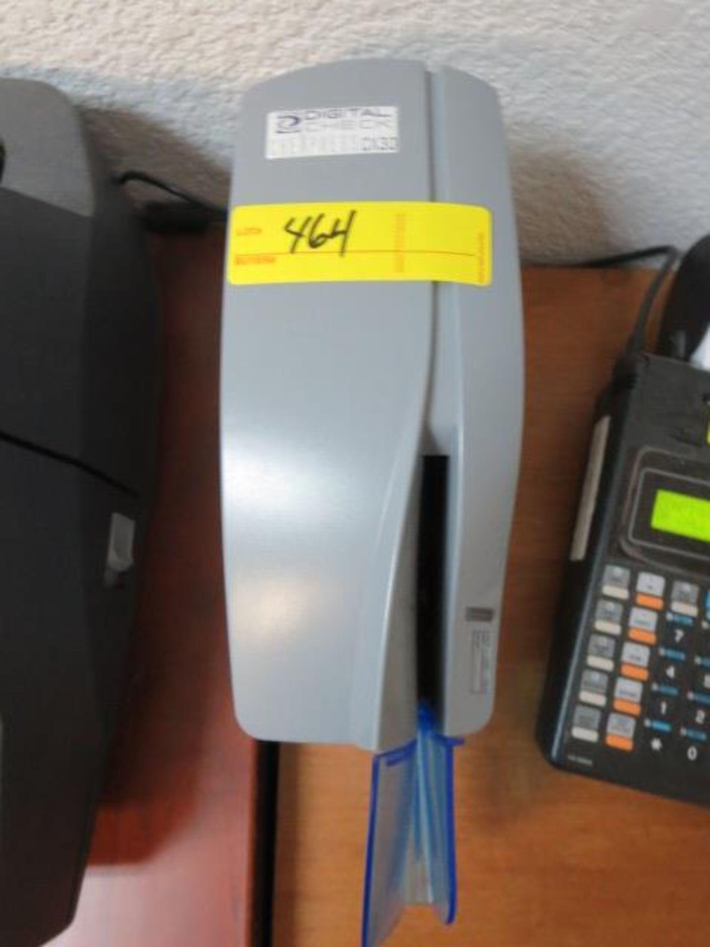 Lot 464 - Digital Check Chexpress Check Scanner, model CX30