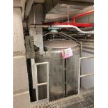 Lot 39 - Mueller 1200 Gallon Stainless Steel Vertical Mixing Tank