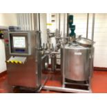 Lot 10 - RDM Technologies Syrup Batch Mixing System on Stainless Steel Frame