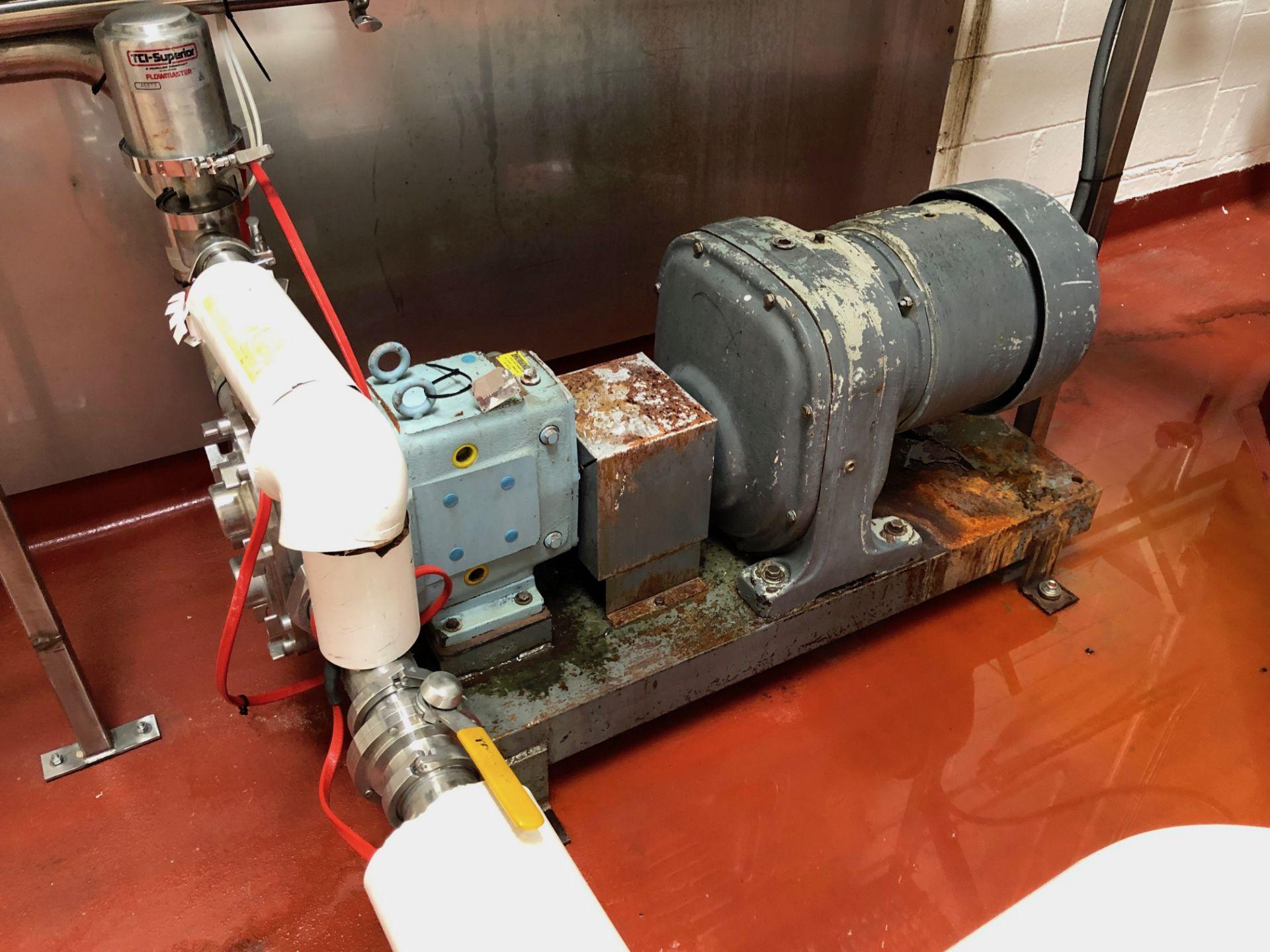 Lot 1 - Waukesha Positive Displacement Pump