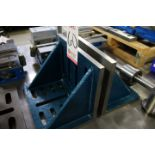 """LOT - MATCHED SET OF SLOTTED ANGLE PLATES, 12""""W X 9""""H X 8""""D"""