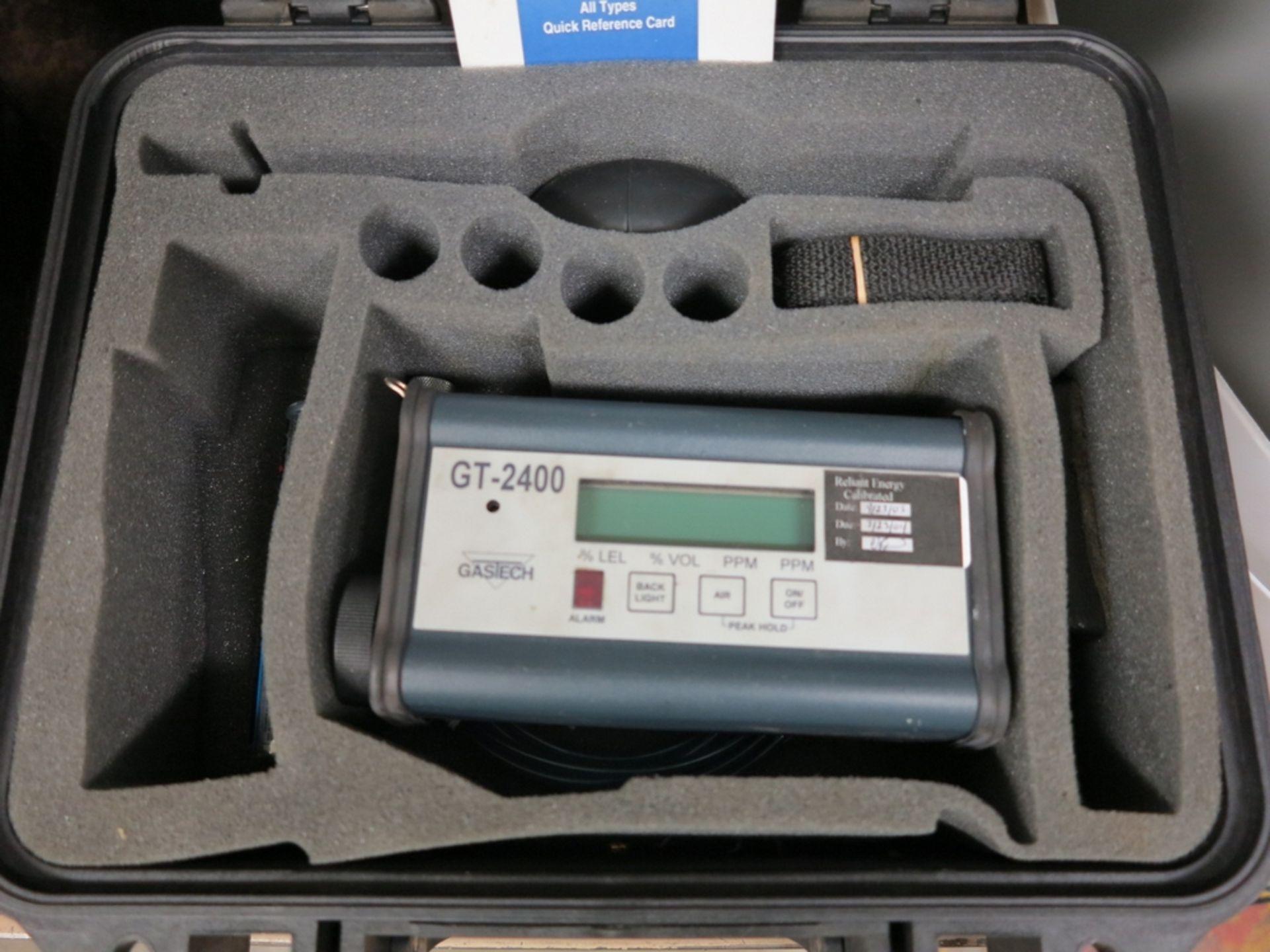 Lot 17 - GASTECH GT-2400 MULTIGAS MONITOR/COMBUSTION ANALYZER