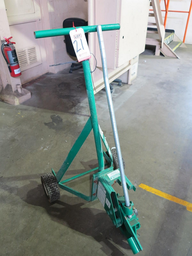 Lot 21 - GREENLEE 1800 MECHANICAL BENDER