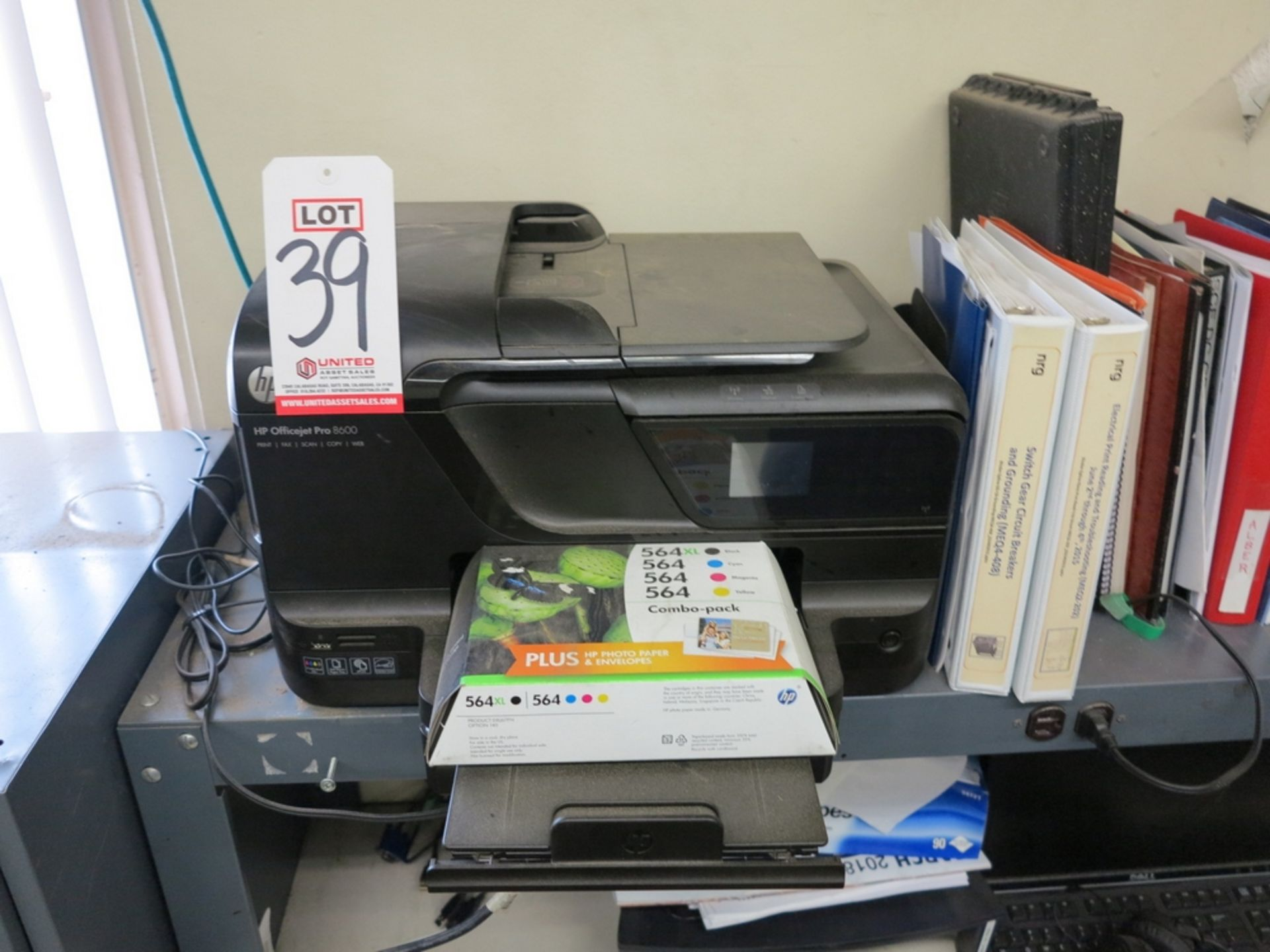 Lot 39 - HP OFFICEJET PRO 8600 PRINTER