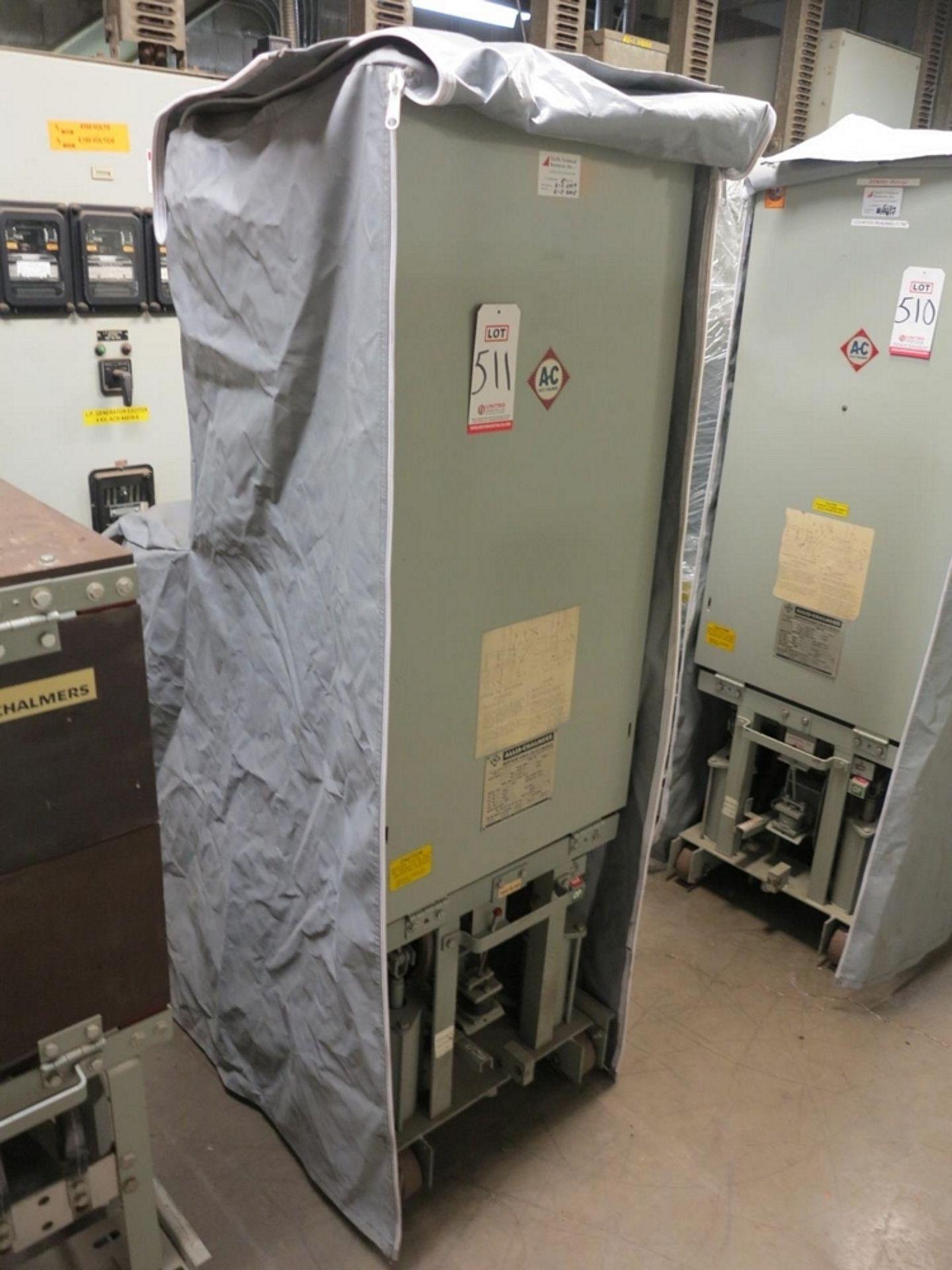Lot 511 - ALLIS CHALMERS CIRCUIT BREAKER, TYPE MA-250A-1, 4160 V, 1200 A