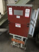 Lot 477 - ALLIS CHALMERS TYPE MA-250-A CIRCUIT BREAKER, 5 KV, 1200 A, CURRENTLY DESIGNATED AS A GROUND AND
