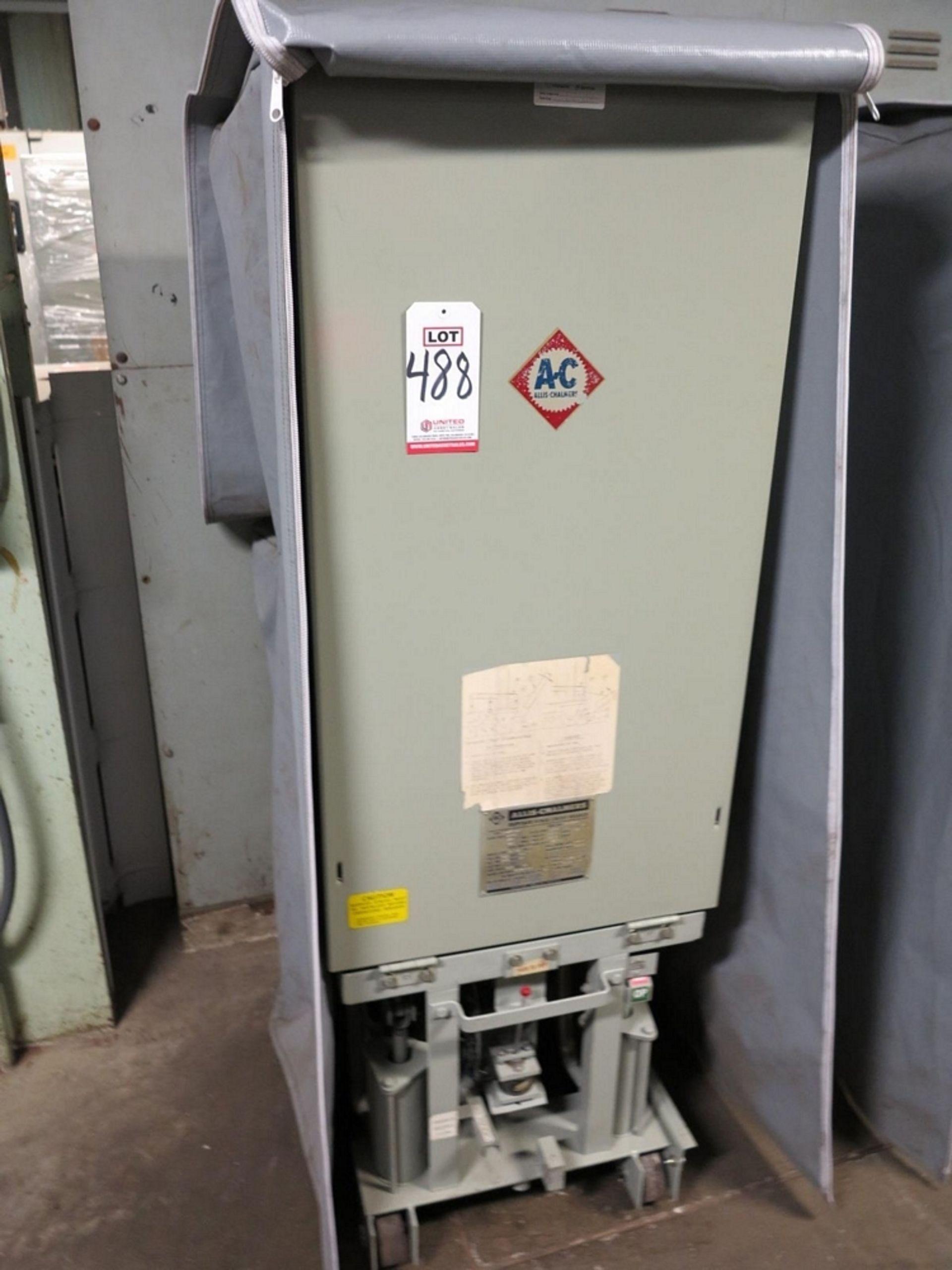 Lot 488 - ALLIS CHALMERS CIRCUIT BREAKER, TYPE MA-250A-1, 4160 V, 1200 A