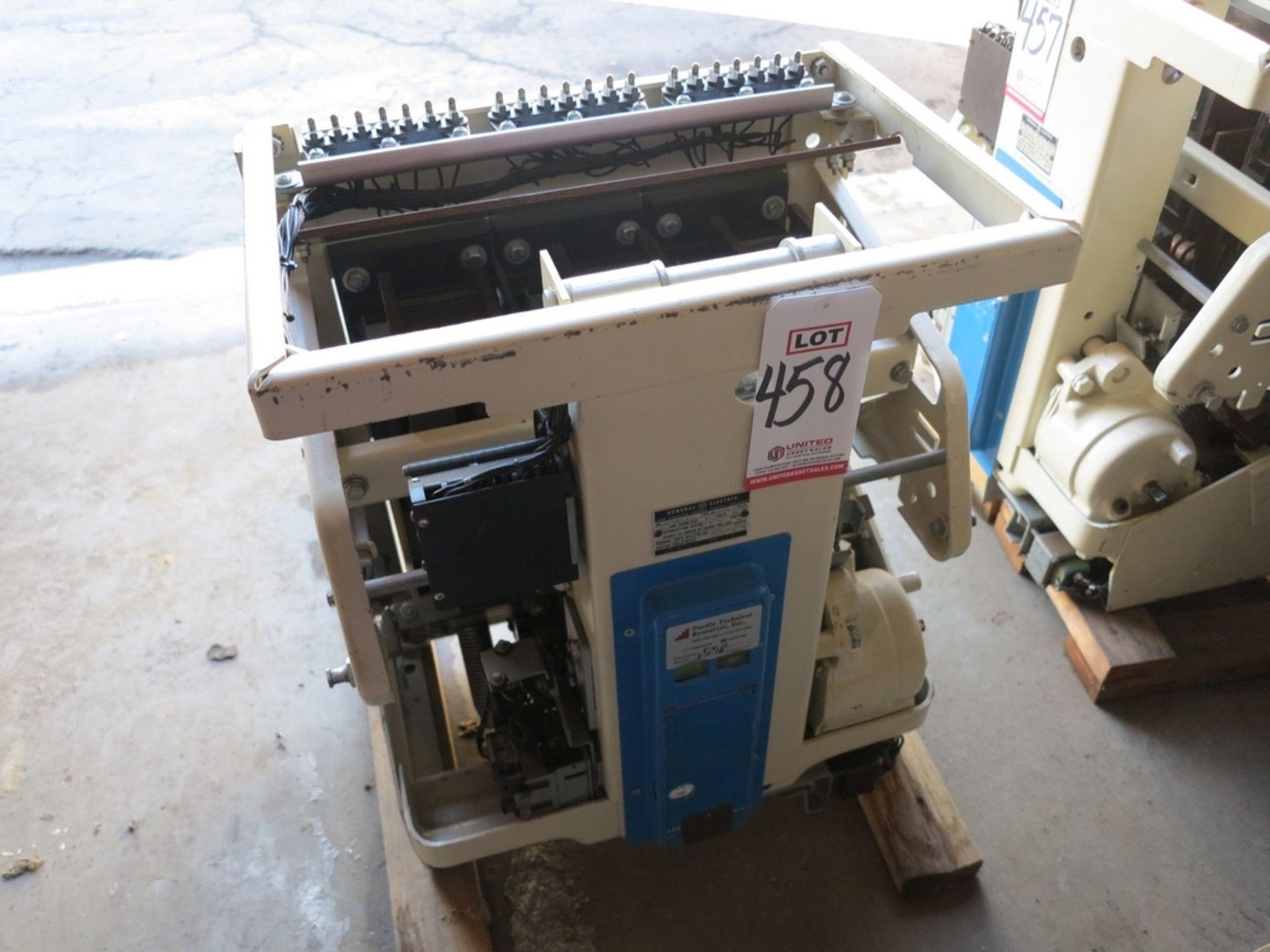 Lot 458 - GE LOW VOLTAGE CIRCUIT BREAKER, 1600 AMP, NO. 156A5854-200