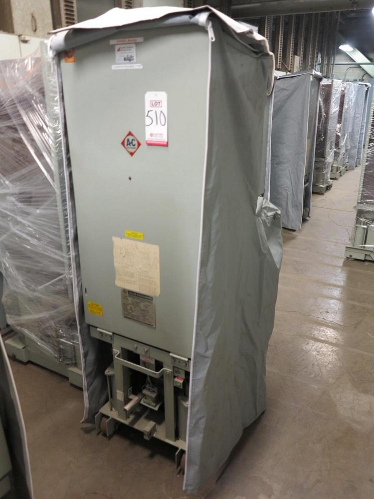 Lot 510 - ALLIS CHALMERS CIRCUIT BREAKER, TYPE MA-250A-1, 4160 V, 2000 A