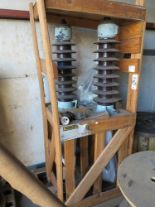 Lot 456 - LOT - CRATE CONTAINING (2) HIGH VOLTAGE BUSHINGS