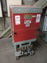 Lot 478 - ALLIS CHALMERS TYPE MA-250-A CIRCUIT BREAKER, 5 KV, 1200 A, CURRENTLY DESIGNATED AS A GROUND AND